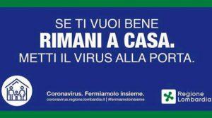 Se ti vuoi bene rimani a casa. Metti il virus alla porta!…